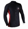 SHARK SKIN ZEEPRO BLACK RED  medium