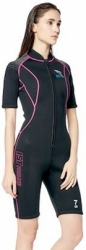 WSR10   SHORT WETSUIT IST WOMEN BALIDIVESHOP  large