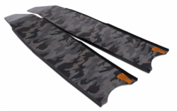 blade leaderfins fiber epoxy grey camo balidiveshop  large