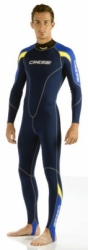 d ultra thin cressi wetsuit one depan bali dive shop  large