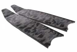large blade leaderfins fiber epoxy grey camo balidiveshop1