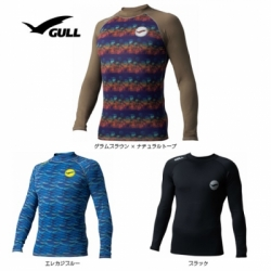 large GW 6604 RASH GUARD GULL MEN 2019 UPF50 4