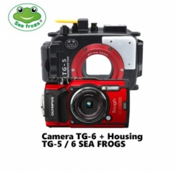 olympus tg 6  housing sea frogs tg 5 or tg 6  large