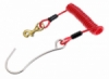 single hook stainless peer w steel wire balidiveshop  medium
