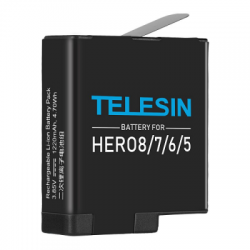 telesin battery camera gopro hero 5,6,7,8  balidiveshop  large